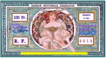 BANQUE NATIONALE FRANÇAISE, DIRIGÉE PAR VOUS MÊME... UNE IDÉE : la ligue chrétienne, la guilde des métiers, pour de vrais salaires et une indépendance économique.