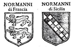 Normandy_and_House_of_Hauteville_coats_of_arms